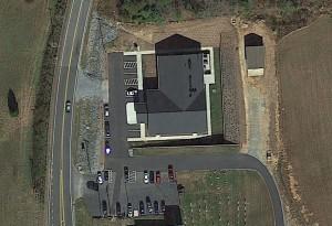 Catawba Valley Baptist Aerial